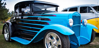 Hot Rods on the Green – Rochford Wines