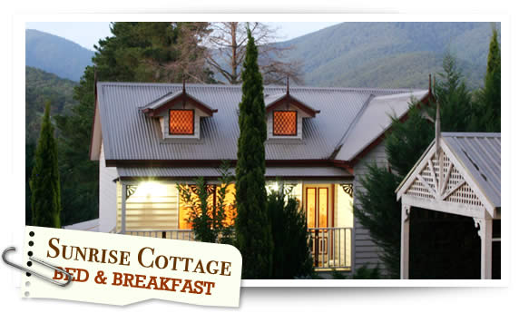 Sunrise Cottage – B & B – Healesville Accommodation